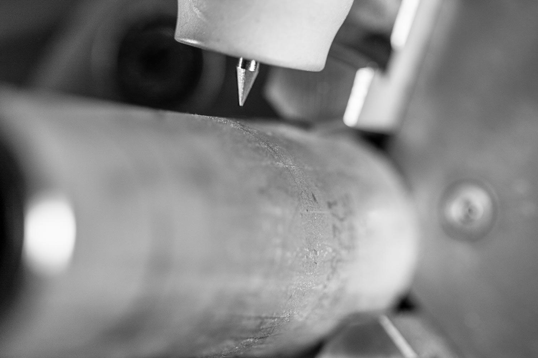 Orbitalschweisselektrode einer Orbitalschweissanlage von Orbitalservice