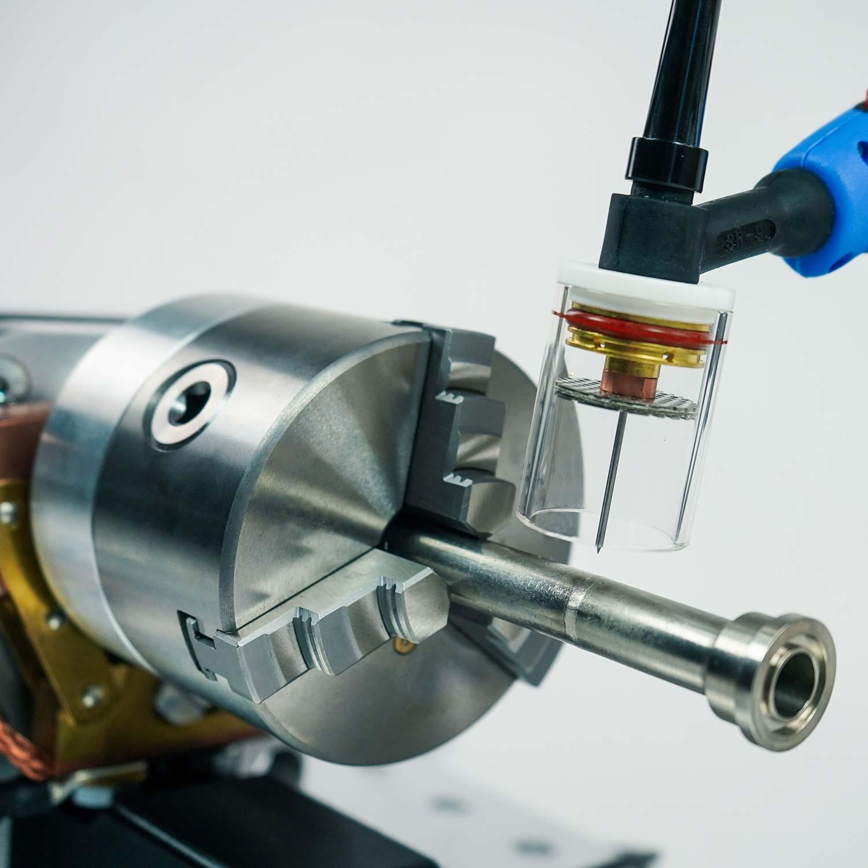 Orbitalservice - Drehvorrichtungen zum Orbitalschweissen - turn tables for orbital welding