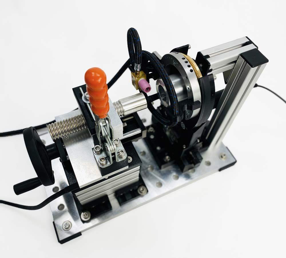 Orbitalservice - Wellrohr-Anlage - Corrugated pipe welding system
