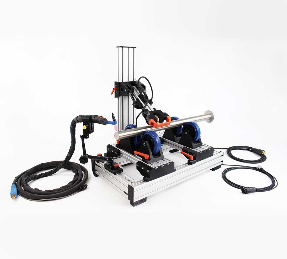 TR1000 - Rollenbock zum Orbitalschweissen - Rolling System for orbital welding